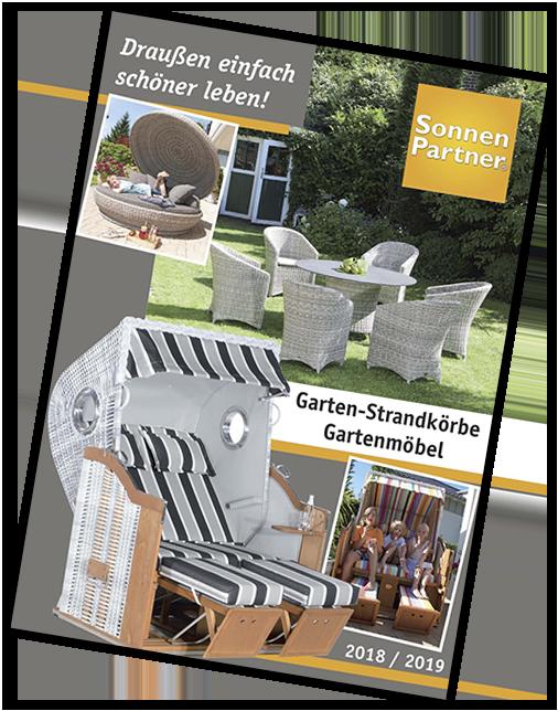 sonnenpartner katalog f r strandk rbe gartenm bel. Black Bedroom Furniture Sets. Home Design Ideas