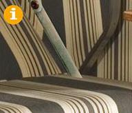 Liegemodelle serienmäßig mit verdeckt liegender Rückholfeder