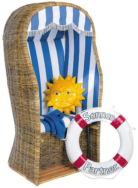 Nostalgie-Strandkorb von SonnenPartner
