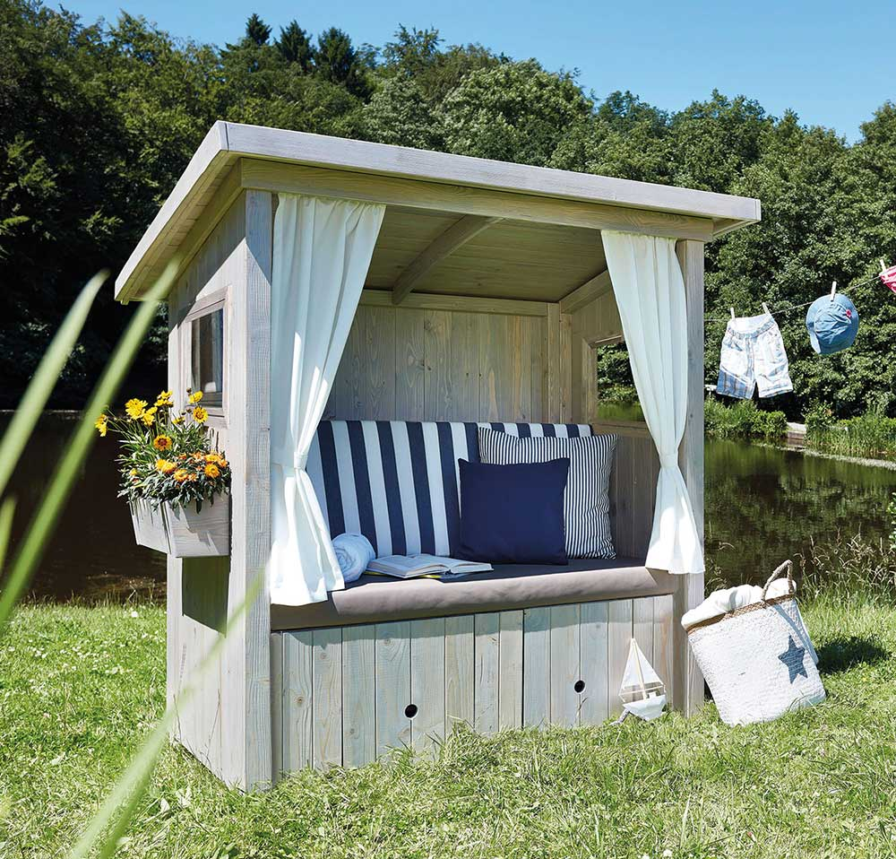 Outdoor-Lounge Hüttenliebe